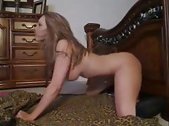 Amateur Anal Babe Masturbation