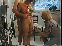 Cumshot Threesome Vintage