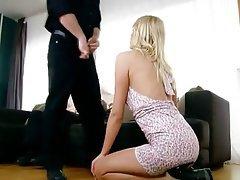 Anal Blowjob Double Penetration Blonde