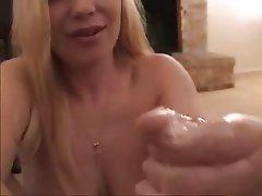 Amateur CFNM Handjob Masturbation