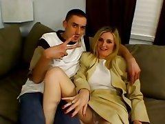 Blonde Cumshot Mature MILF