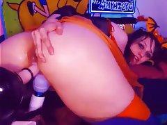 BBW Masturbation Squirt Webcam