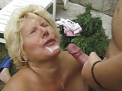 Anal Double Penetration Granny Mature