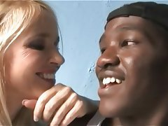 Blonde Mature Interracial