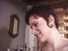 BDSM Brunette Femdom Group Sex