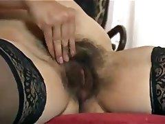 Amateur Hairy MILF