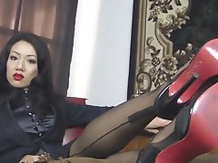 Stockings Femdom Foot Fetish Lesbian