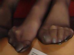 Nylon Foot Fetish Stockings