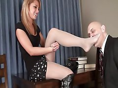 Foot Fetish Nylon Stockings