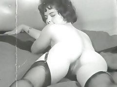 Hairy MILF Stockings Vintage