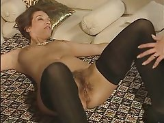 German Group Sex MILF Strapon