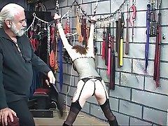 BDSM Brunette Lingerie Nylon