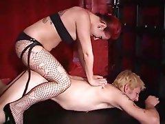 BDSM Bondage Femdom Strapon