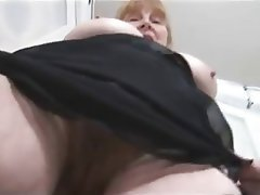 Big Boobs Blonde Granny Hairy