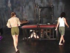 BDSM Lesbian Threesome Brunette