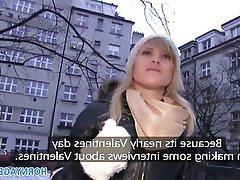 Amateur Blonde Czech POV