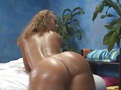 Babe Blonde Hardcore Massage