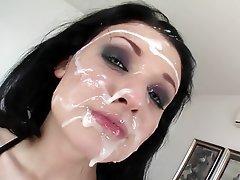 Babe Bukkake Cumshot Facial