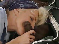 Anal Blonde Interracial Piercing
