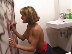 Blowjob Gloryhole Interracial