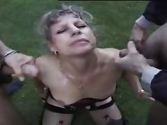 Amateur Anal Granny Threesome
