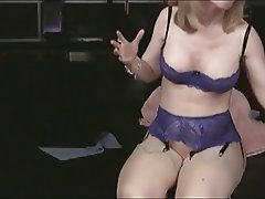 MILF Old and Young Pornstar Stockings