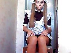 Amateur Babe Lingerie Masturbation Russian