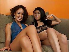 Lesbian Strapon Thai