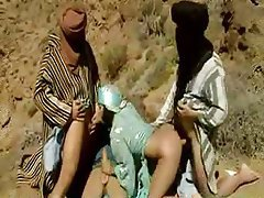 Arab Indian Swinger Threesome
