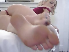 Foot Fetish Masturbation Squirt