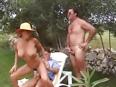 Anal Double Penetration German Outdoor