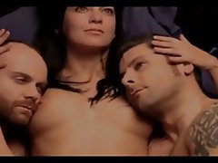 Brunette Group Sex Celebrity Threesome Softcore