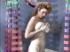 Brunette Cumshot Shower Vintage