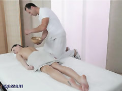 Ebony Teen Massage