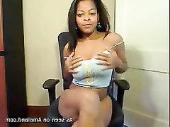 Big Tits Ebony Amateur