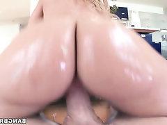 BBW Big Ass Big Cock Blowjob