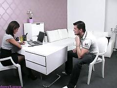 Babe Casting POV Secretary