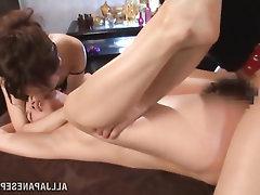 Asian Babe Lesbian Stockings