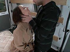Anal BDSM Brunette Dildo