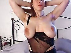 Babe Big Boobs Hairy Masturbation