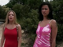 Brunette Lesbian Pornstar Big Boobs