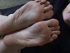 BDSM Femdom Foot Fetish Granny MILF