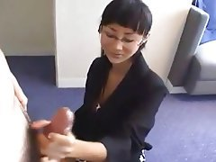 Asian Cumshot Handjob Old and Young