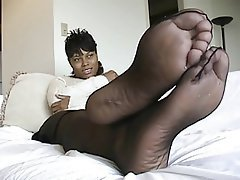 Foot Fetish Nylon