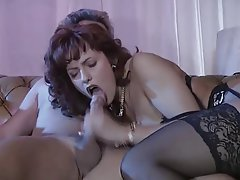 Anal Double Penetration MILF Stockings