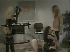 BDSM Group Sex Blonde Brunette