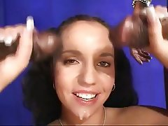 Amateur Anal Interracial Threesome