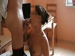 Blowjob Mature Cuckold Facial