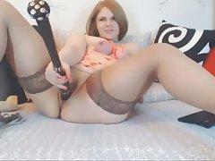 Amateur BBW BDSM Masturbation