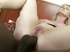 Anal Mature Double Penetration Interracial